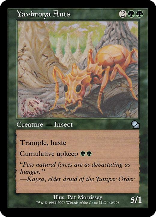 Yavimaya Ants image