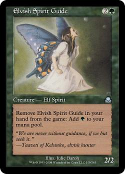 Elvish Spirit Guide image