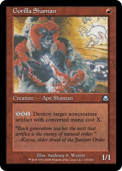 Gorilla Shaman image