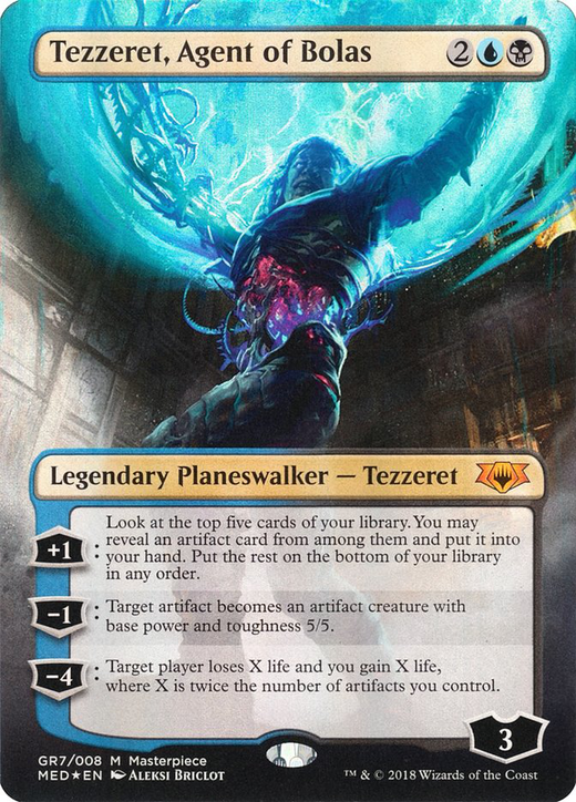 Tezzeret, Agent of Bolas image