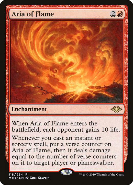 Aria of Flame image