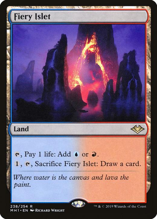 Fiery Islet image