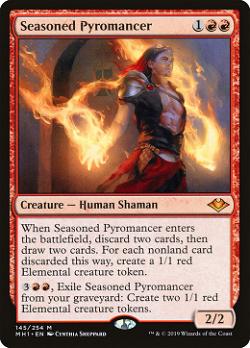 Seasoned Pyromancer image