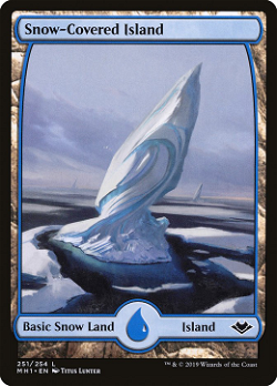 Snow-Covered Island image