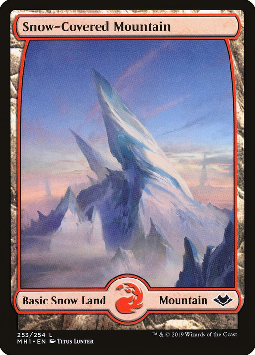Snow-Covered Mountain image