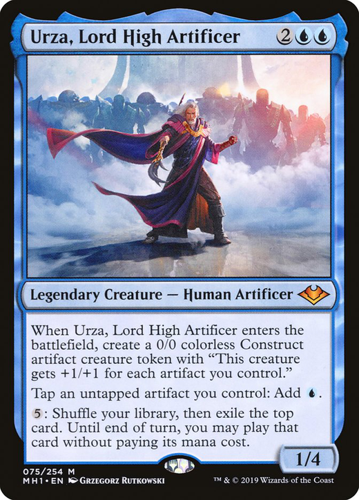 Urza, Lord High Artificer image