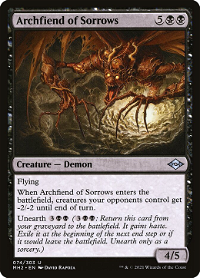Archfiend of Sorrows image