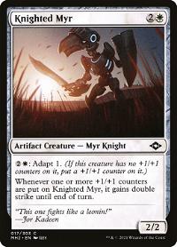 Knighted Myr image