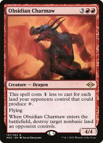 Obsidian Charmaw