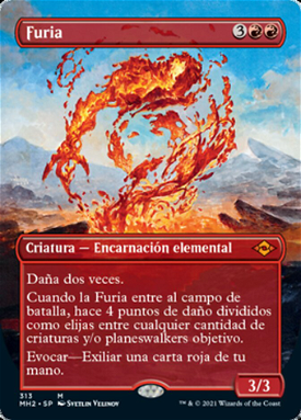 Furia / Fury | Magic: the Gathering MTG Cartas