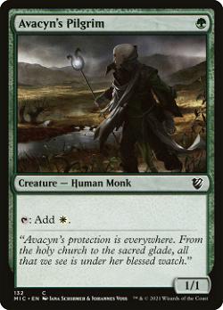 Avacyn's Pilgrim image