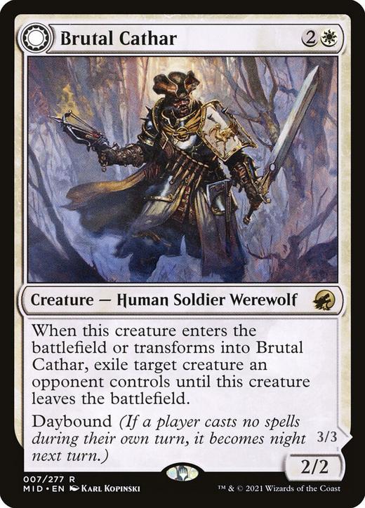 Brutal Cathar // Moonrage Brute image