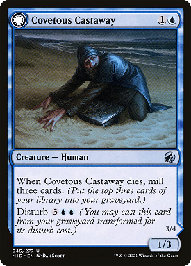 Covetous Castaway // Ghostly Castigator image