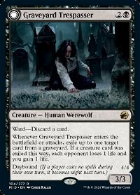 Graveyard Trespasser // Graveyard Glutton image