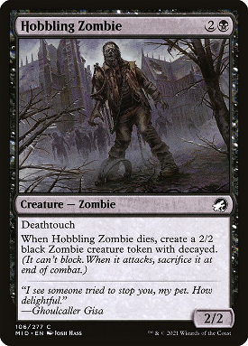 Hobbling Zombie image
