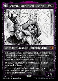 Jerren, Corrupted Bishop // Ormendahl, the Corrupter image