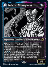 Ludevic, Necrogenius // Olag, Ludevic's Hubris image