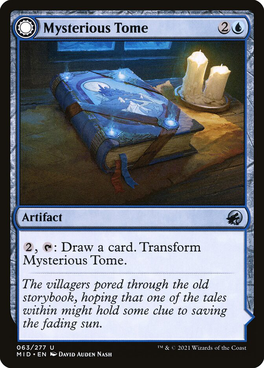 Mysterious Tome // Chilling Chronicle image
