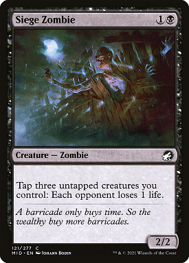 Siege Zombie image