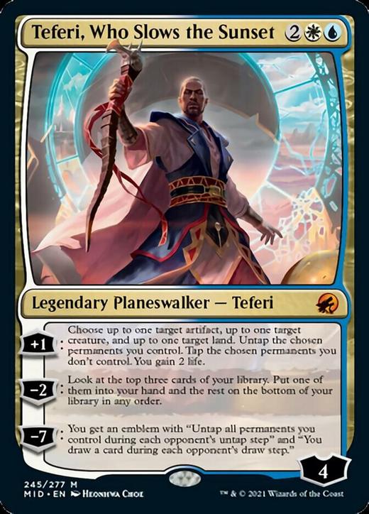 Teferi, Who Slows the Sunset image