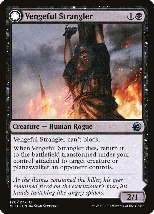 Vengeful Strangler // Strangling Grasp image
