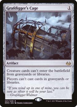 Grafdigger's Cage image