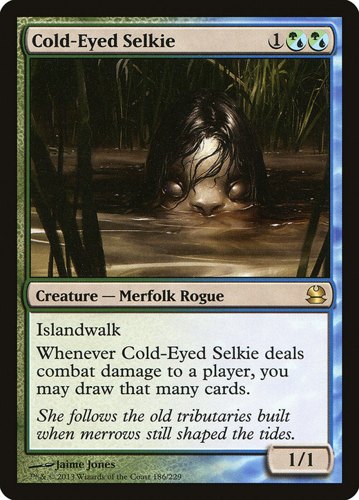 Cold-Eyed Selkie image