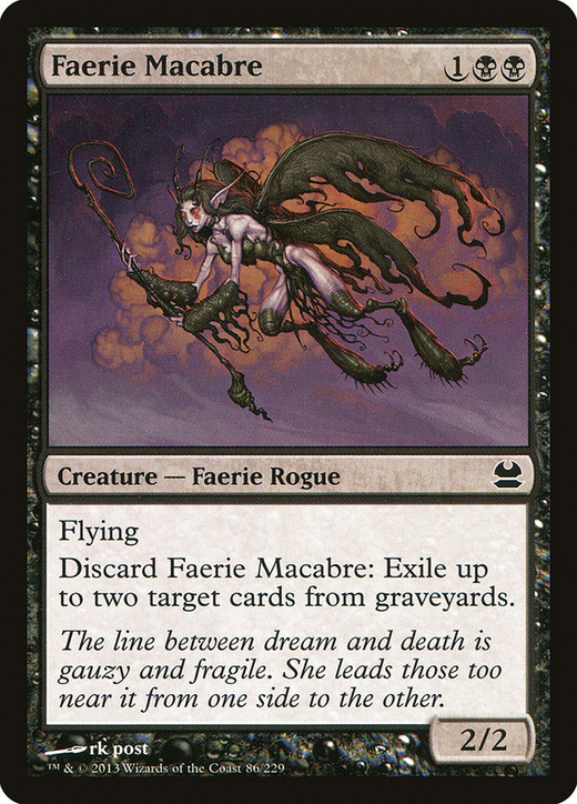 Faerie Macabre