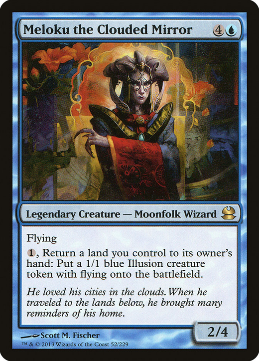 Meloku the Clouded Mirror