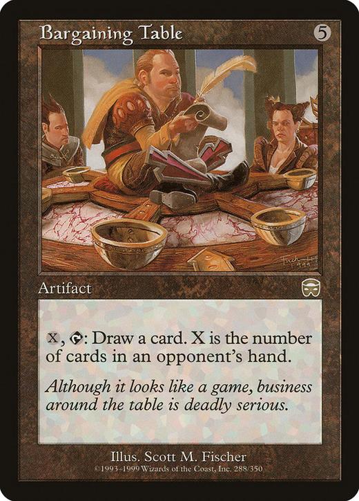 Bargaining Table image