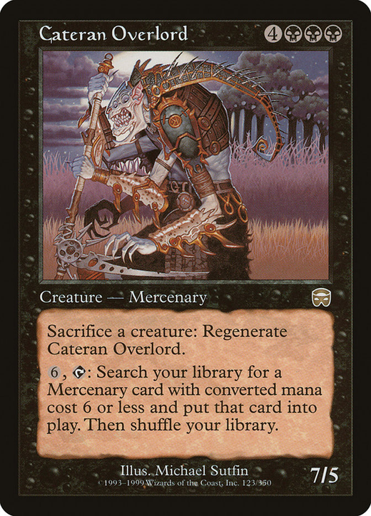 Cateran Overlord image