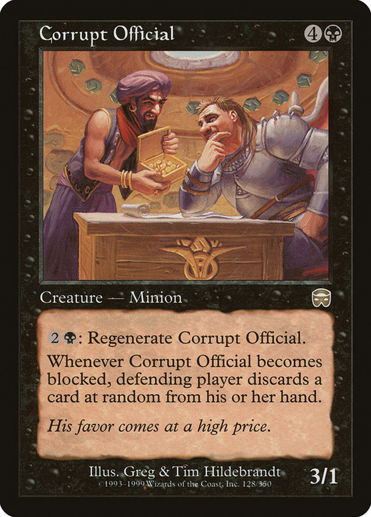Corrupt Official image