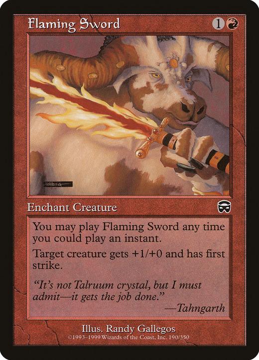 Flaming Sword image