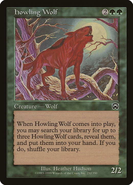 Howling Wolf image