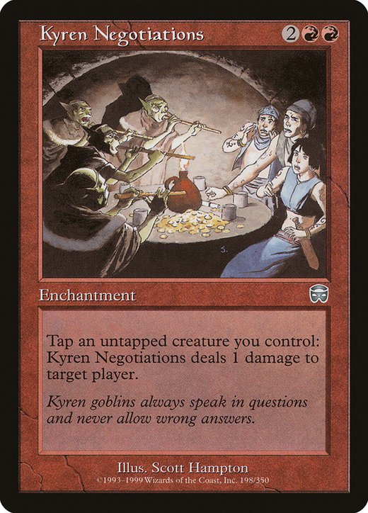 Kyren Negotiations image