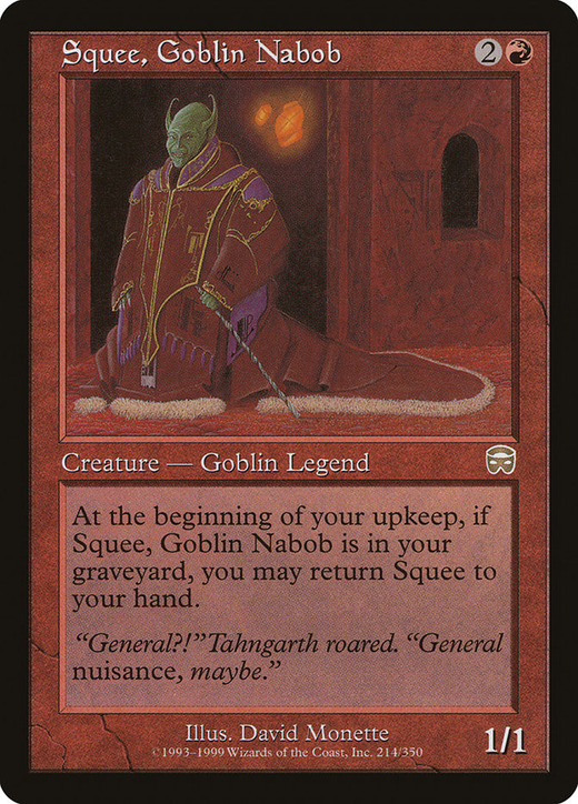 Squee, Goblin Nabob image