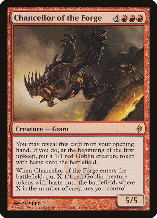 Chancellor of the Forge image