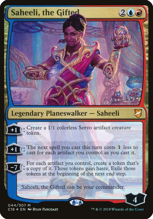 Saheeli, the Gifted image