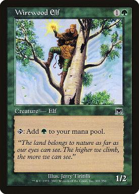 Wirewood Elf image