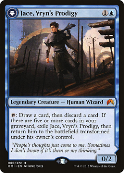 Jace, Vryn's Prodigy // Jace, Telepath Unbound image