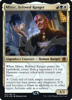Minsc, Beloved Ranger image