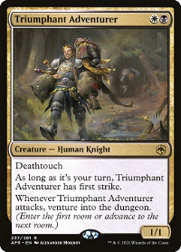 Triumphant Adventurer image