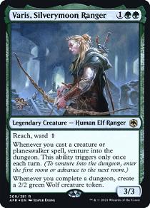 Varis, Silverymoon Ranger image