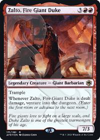 Zalto, Fire Giant Duke image