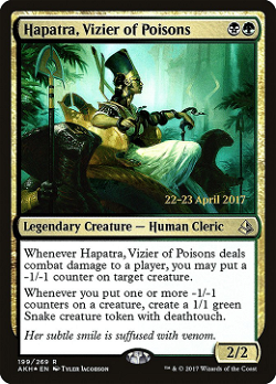Hapatra, Vizier of Poisons image