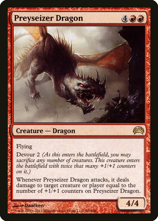 Preyseizer Dragon image