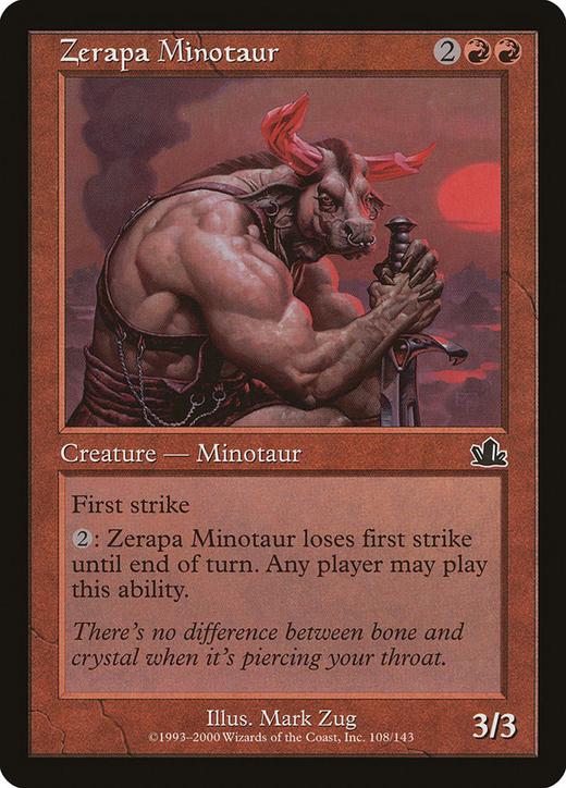 Zerapa Minotaur image