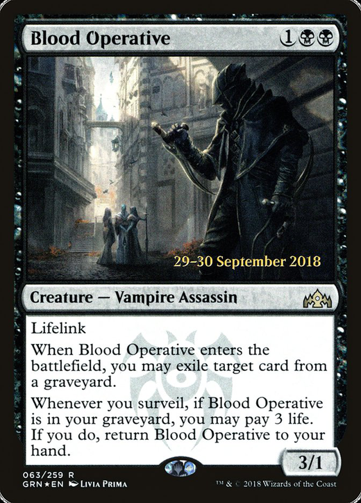 Blood Operative image