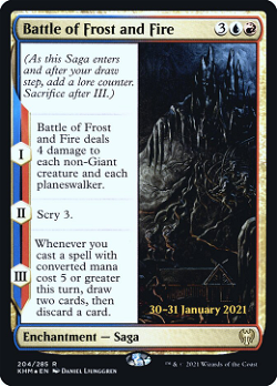 Battle of Frost and Fire image