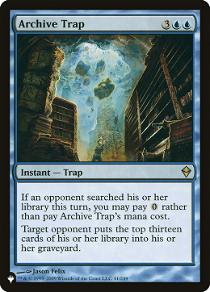 Archive Trap image